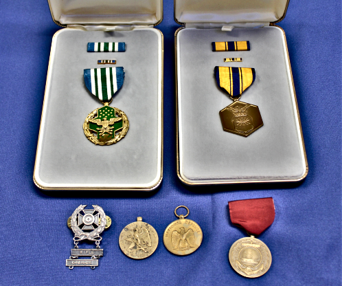 2018 07 04 Military medals