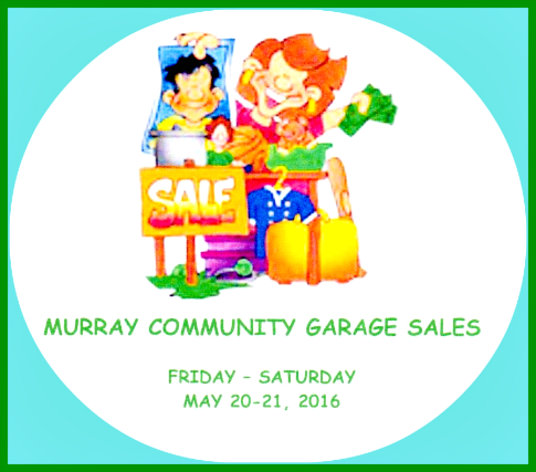 2016 05 18 MURRAY GARAGE SALES