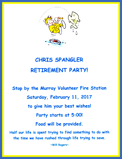 2017 02 01 CHRIS SPANGLER RETIRE