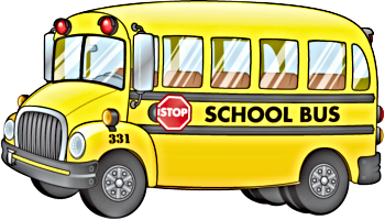 School buses clipart