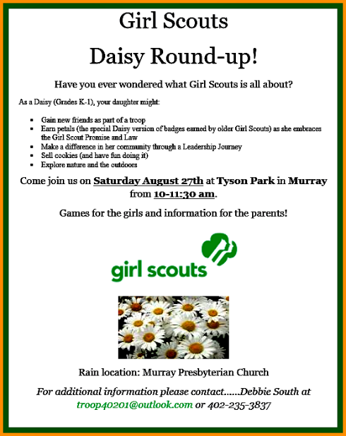 2016 08 24 Daisy Girl Scouts