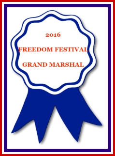 2016 GRAND MARSHAL ribbon