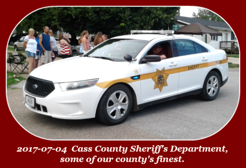 2017 07 04 Cass County Sheriffs dept