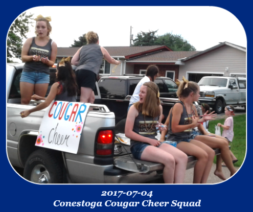 2017 07 04 Conestoga Cheerleaders