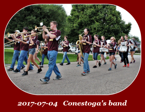 2017 07 04 Conestoga band parade 10