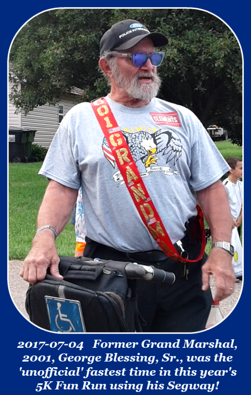 2017 07 04 MFF George Blessing Sr. on his Segway