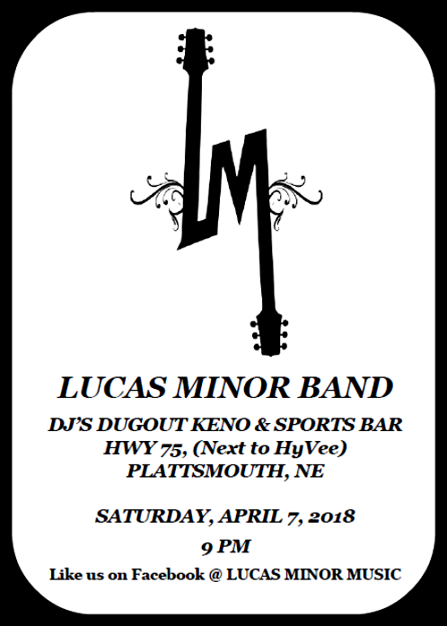 2018 04 04 LUCAS MINOR BAND