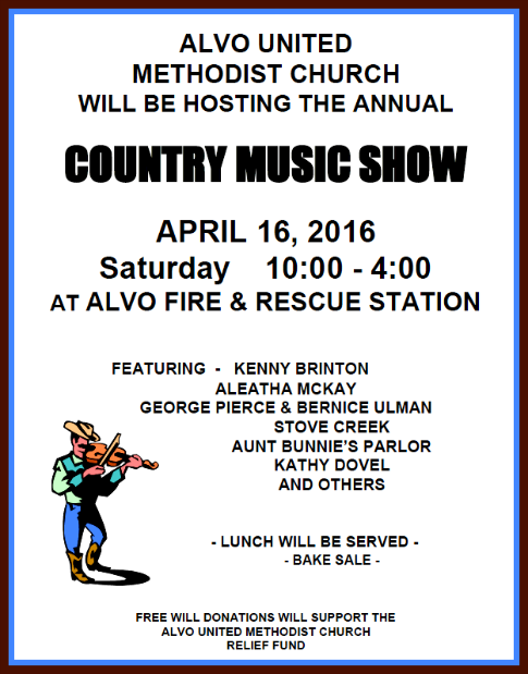 2016 04 13 ALVO Country music