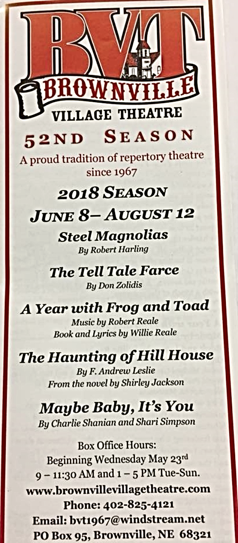 2018 05 16 Brownville Village Theater