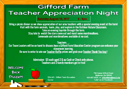 2017 07 19 BLV Gifford Farm Teacher Appreciation Night