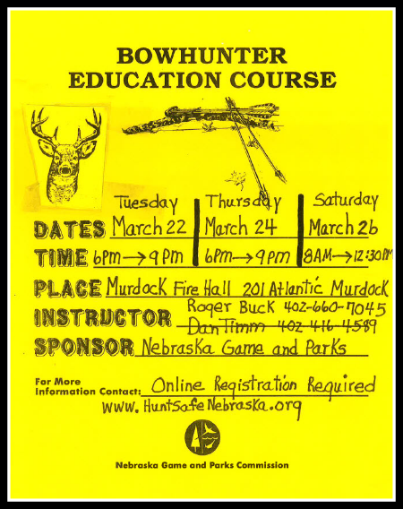 2016 03 09 ELM bowhunter course