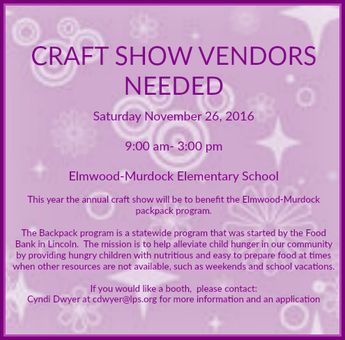 2016 11 09 ELM craft show