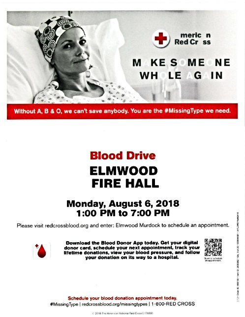 2018 08 01 ELM Red Cross Blood Drive