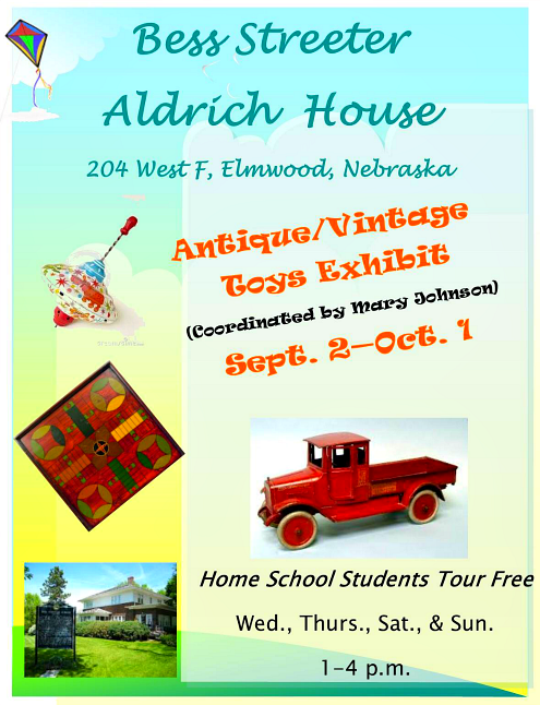 2017 08 23 ELM Aldrich AntiqueToy Exhibit