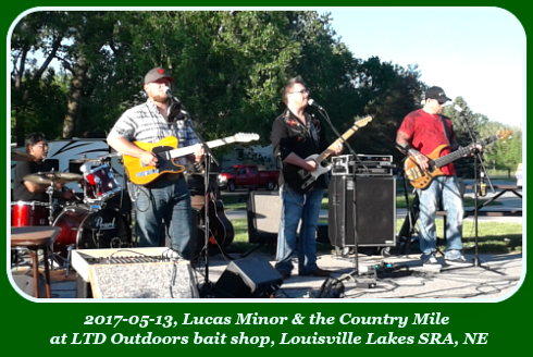 2017 05 13 Lucas Minor the Country Mile at LTD