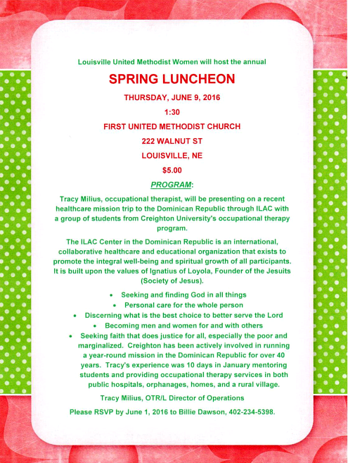 2016 05 25 LSV 1st UNITED METHODIST lunch