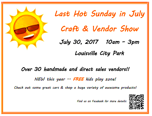 2017 07 26 LSV LHSIJ Craft show