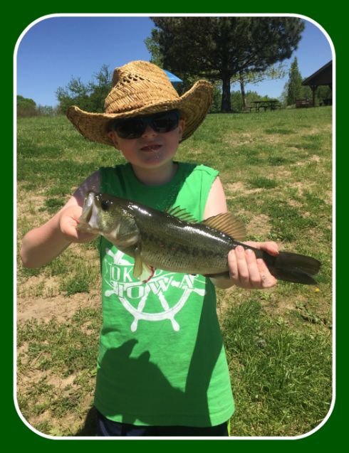 2017 05 13 Tyler Heisler fishing tourn age group winner LSRA