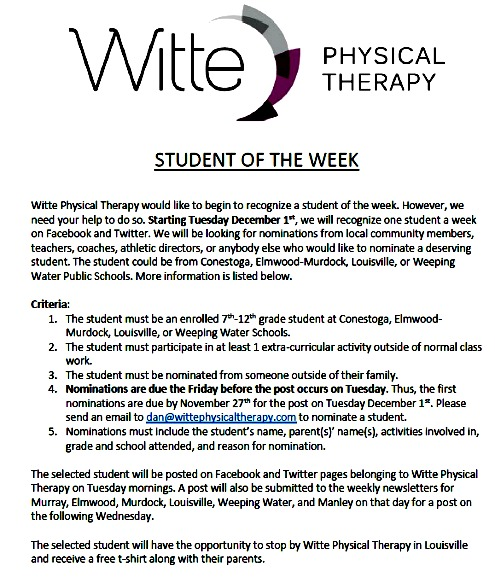 2015-11-18 LSV_Witte_Student_of_Week