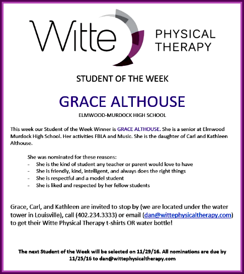 2016 11 23 LSV Witte SOTW Althouse