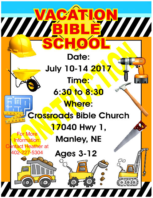 2017 07 05 MNLY Crossroads Bible Church VBS