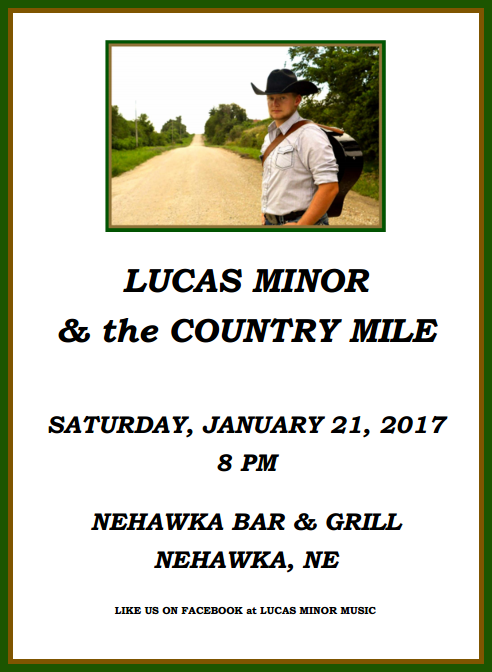 2017 01 11 LUCAS the Country Mile