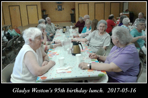 2017 05 16 Gladys Weston Birthday lunch 1
