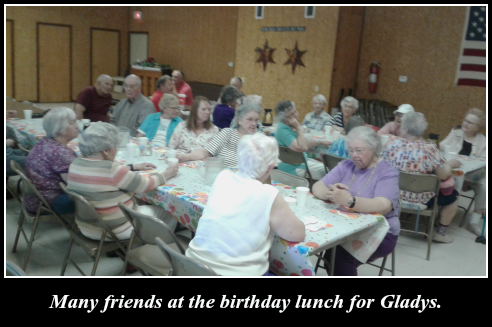 2017 05 16 Gladys many friends