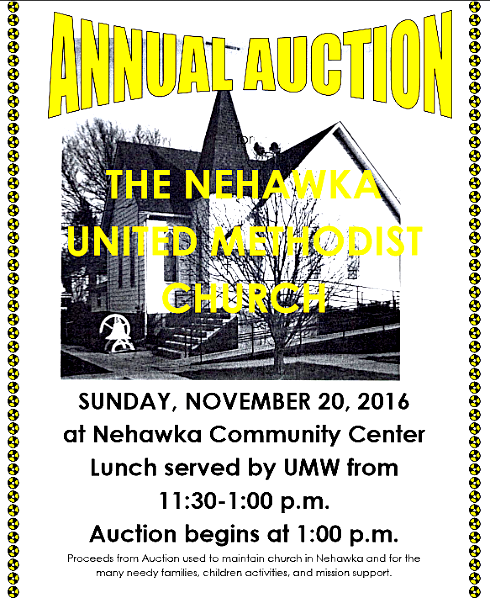 2016 11 16 NEH UMC auction