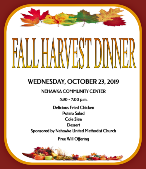 2019 10 09 NEH UMC fall dinner 1 1