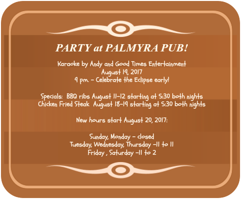 2017 08 09 Palmyra Pub Eclipse party