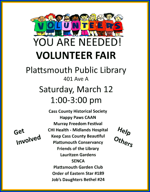 2016 03 09 PLT Volunteer Fair