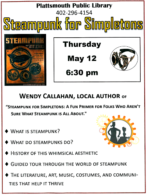 2016 05 04 PLT Library Steampunk