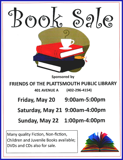 2016 05 04 PLT library book sale