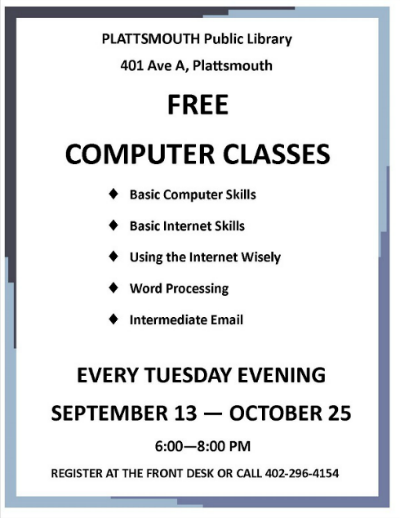 2016 09 14 PLT LIBRARY Computer classes