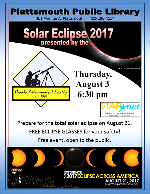 2017 07 05 PLT Library Solar Eclipse with OAS