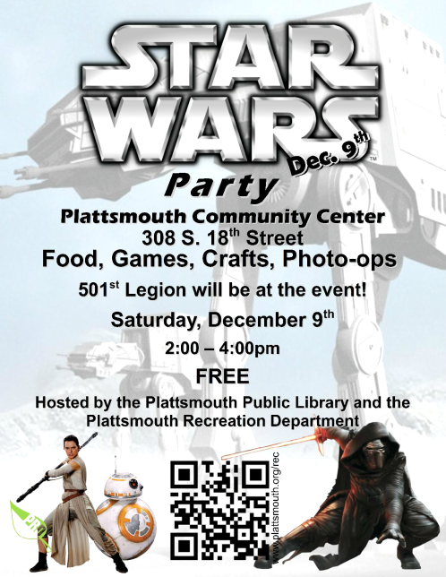 2017 11 22 PLT Lib Star Wars Party