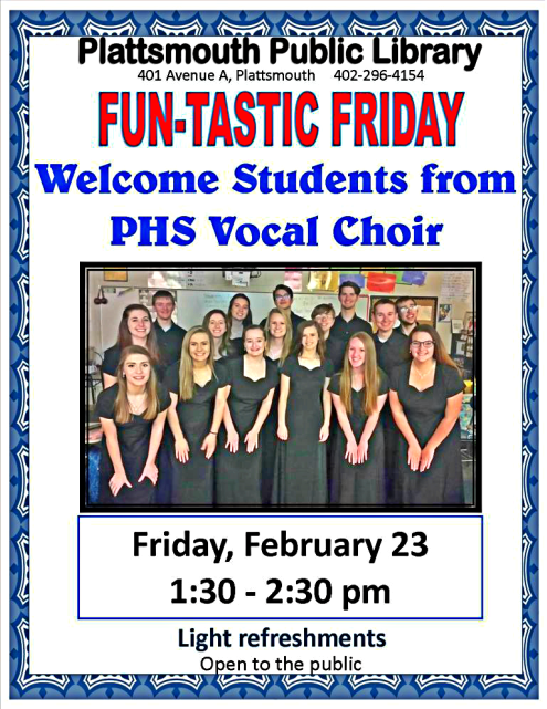 2018 02 14 PLT Lib PHS Vocal Choir