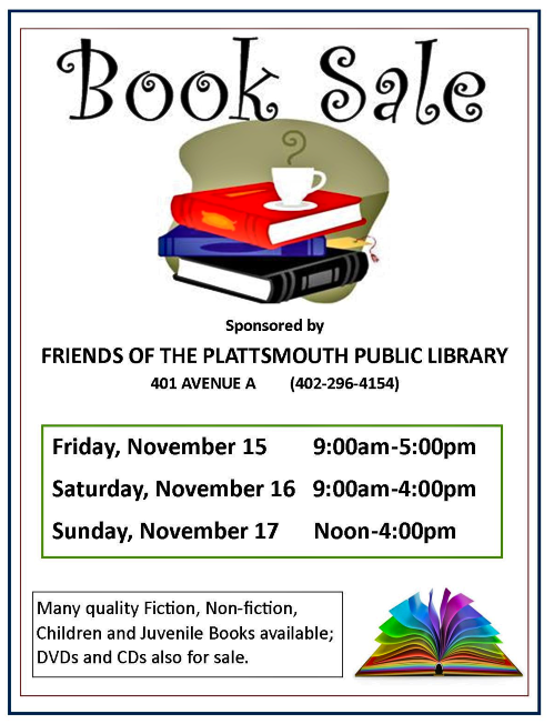 2019 11 06 PLT LIB book sale