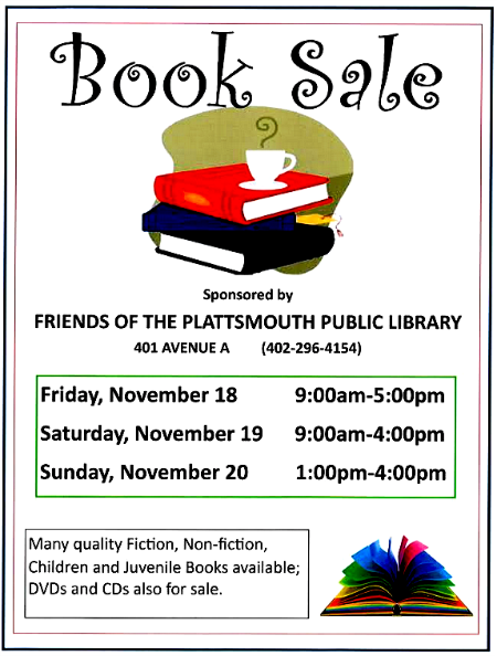 2016 11 02 PLT Library book sale