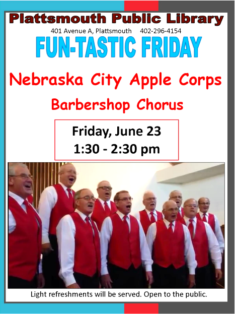 2017 06 14 PLT Lib Apple Corps Singing 6.23.2017