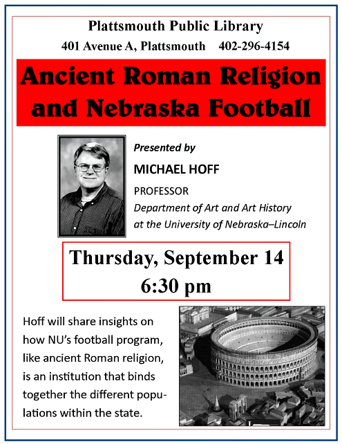2017 08 23 Michael Hoff Ancient Rome and Football