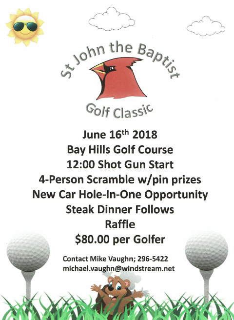 2018 05 16 PLT St John Golf Tourney 1