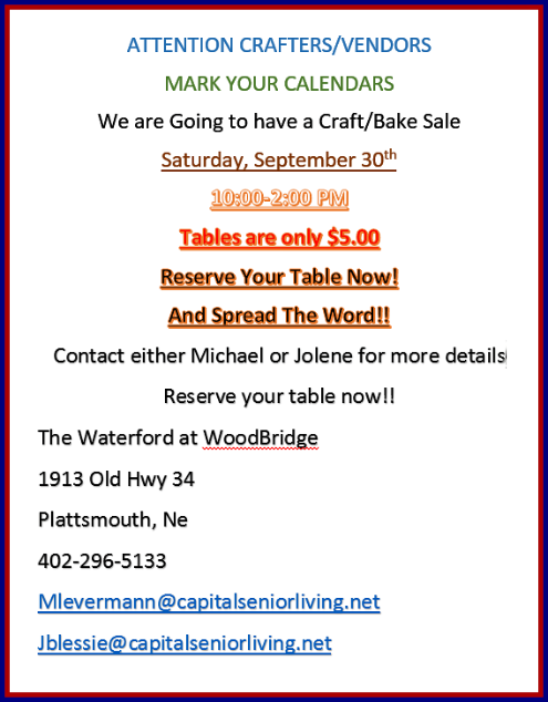 2017 08 02 PLT Woodbridge craft fair