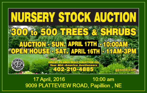 2016 03 16 SPR GPR nursery auction