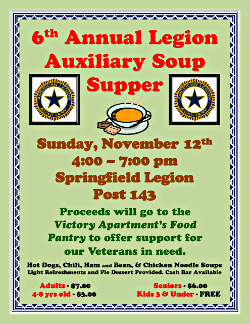 2017 10 18 SPR Legion SoupSupper