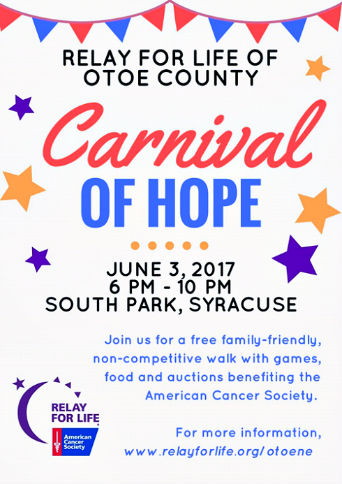 2017 05 24 SYR Relay for life