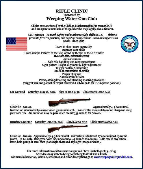 2016 04 06 WW rifle clinic