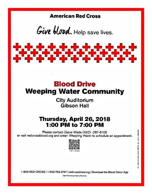 2018 04 18 WW Blood Drive