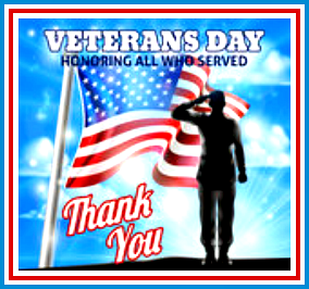 Veterans DayThank You